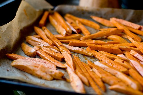 Success with Baked Sweet Potato Fries - Eating Made Easy