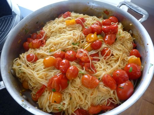 angel hair recipe