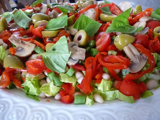 chopped salad recipe