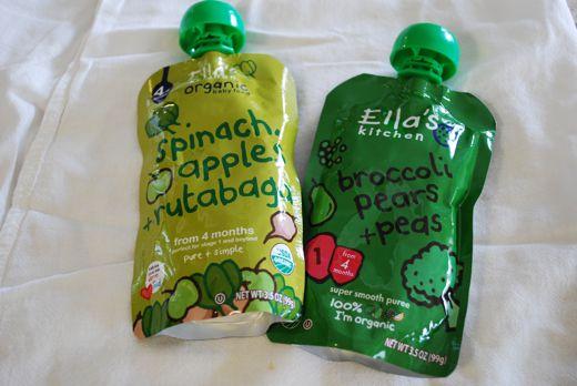 squeezable veggie puree