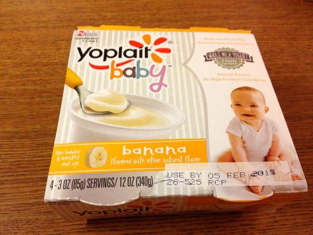 yoplait baby