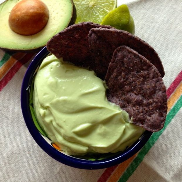 ... expecting, make this creamy, tangy, super smooth avocado dip