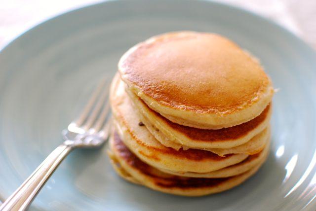 Fluffy Greek Yogurt Pancakes - Eating Made Easy