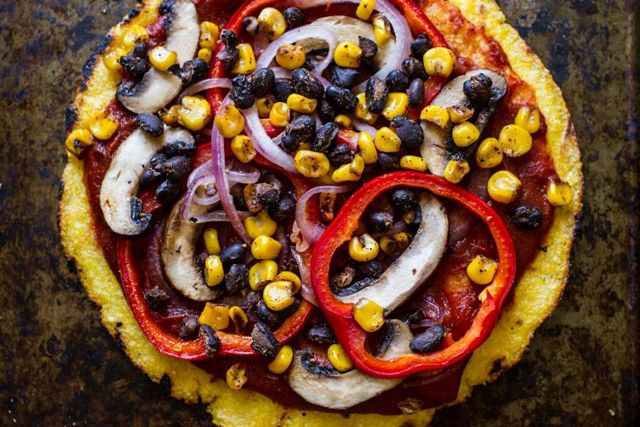 Mexican Grilled Polenta Pizza from Edible Perspective – Side bonus ...