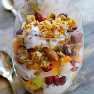 Cranberry Yogurt Parfaits