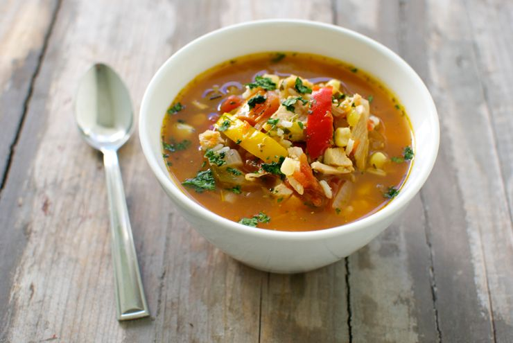 up: Turkey Tortilla Soup, which I make anytime we have leftover turkey ...