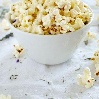 Rosemary Sea Salt Popcorn
