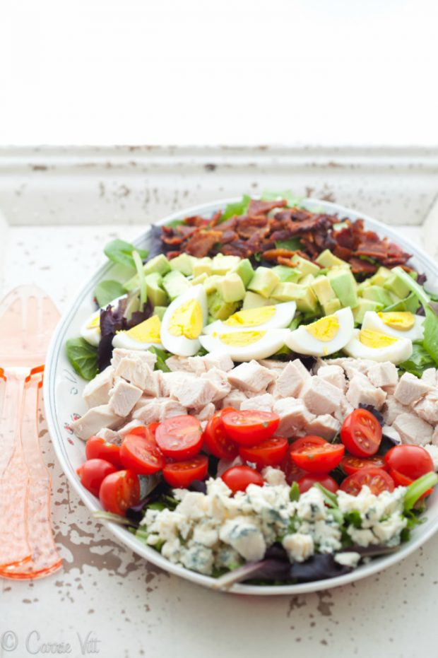 Cobb Salad from Deliciously Organic