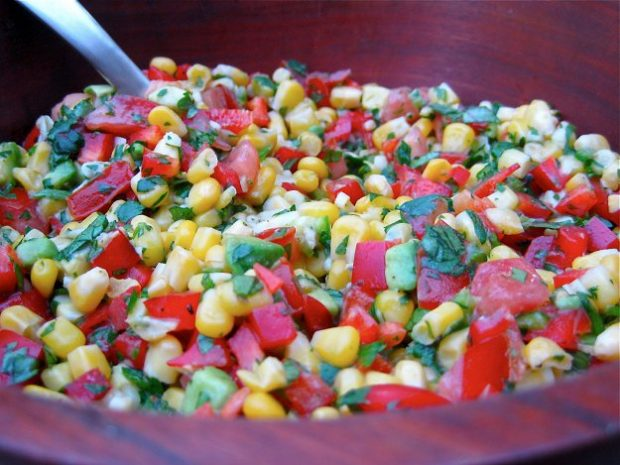Zesty Lime and Corn