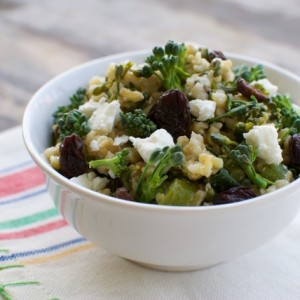 Freekeh and Broccoli Salad (and Why I Eat Grains)