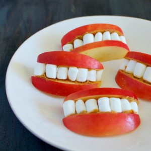 Apple Smiles Snack Recipe