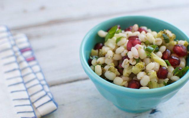 15-Minute Barley and Pomegranate Salad