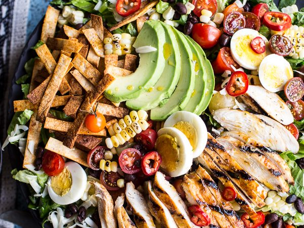 mexican chicken cobb salad