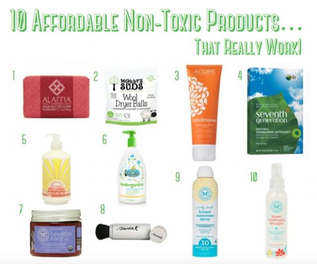 10 affordable non-toxic products that work