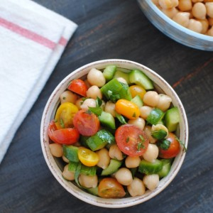 Chickpea Salad and The Lowdown on Pulses