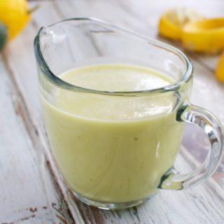 Meyer Lemon Vinaigrette {and My Trip to Terranea}