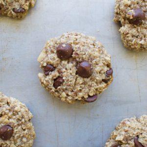 Healthy Peanut Butter Breakfast Cookies
