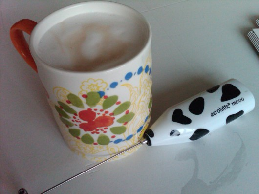 aerolatte milk