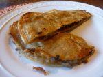 blue cheese quesadillas