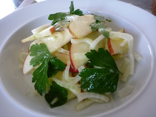 Apple, Fennel, and Parsley Salad - Eating Made Easy