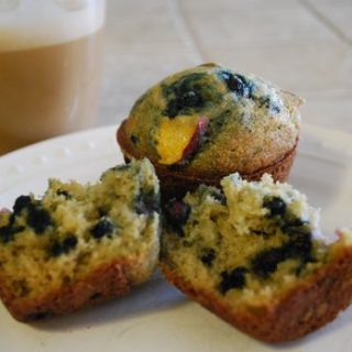Weekend Blueberry Muffins