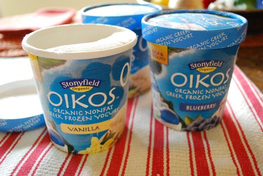 greek frozen yogurt
