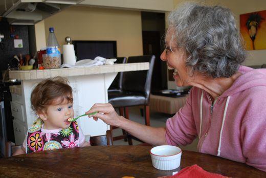 feeding baby solid foods