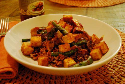 roasted tofu recipe