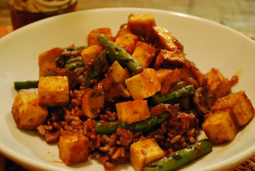 roasted tofu recipe