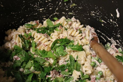pasta with ricotta