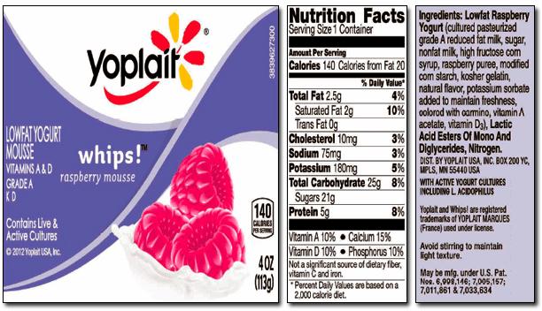 worst yogurt