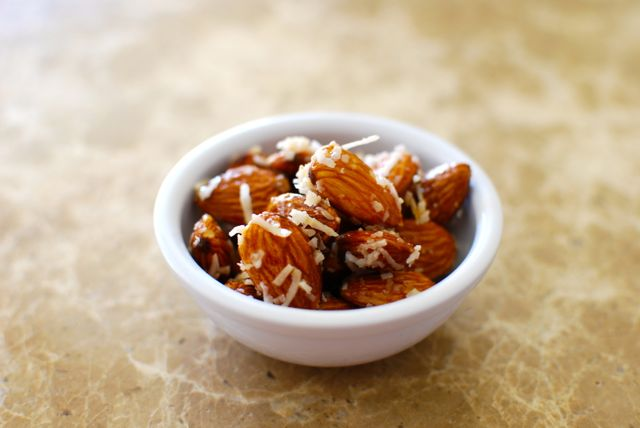 roasted almonds recipe