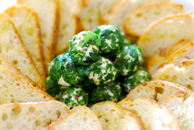 herb goat cheese