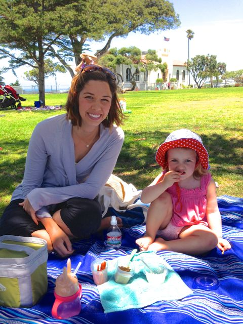 picnic with kids