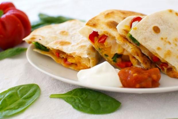 healthy quesadilla