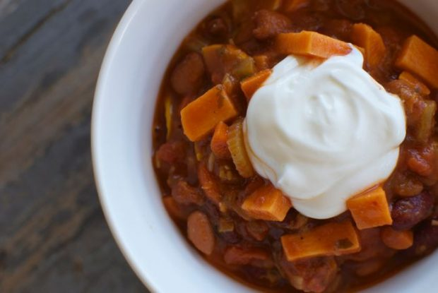 easy vegetarian chili