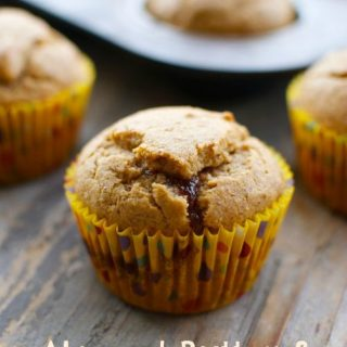 Almond Butter and Jelly Muffins