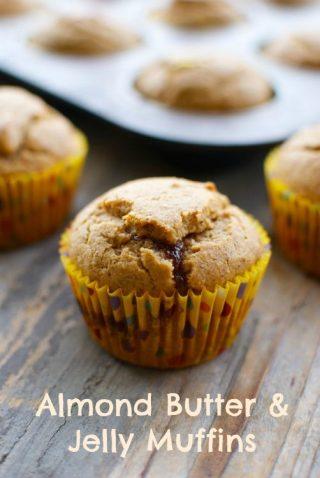 almond butter muffins