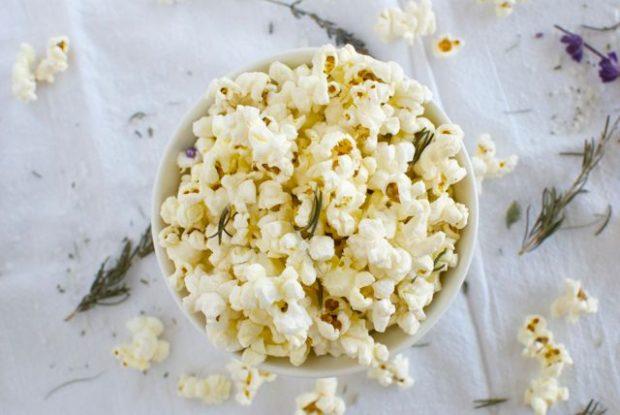 sea salt popcorn