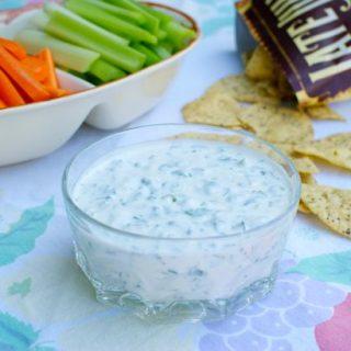 Cilantro Chive Yogurt Dip