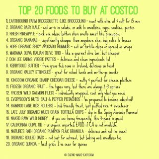 Top 20 Foods to Buy at Costco
