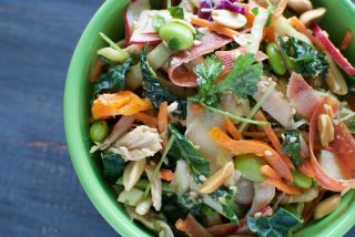Chinese Chicken Kale Salad