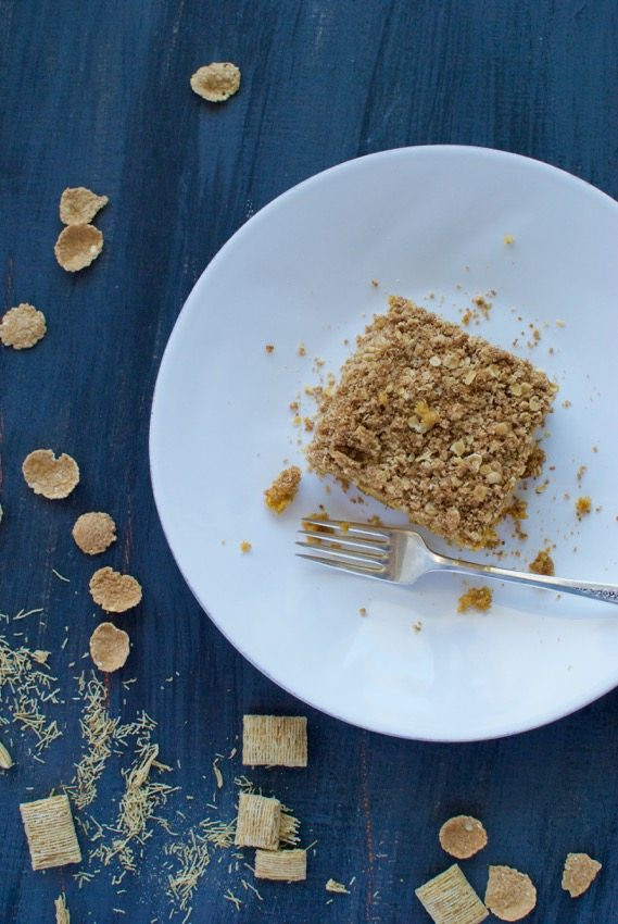 Cereal cake - made with all those lingering cereal crumbs!