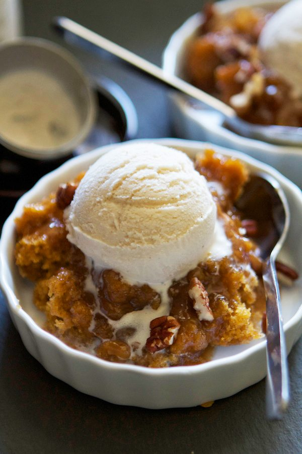 pumpkin pecan cobbler lauren's latest
