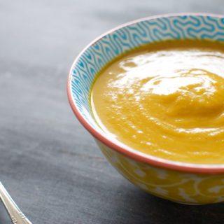 Quick Curry Pumpkin Soup