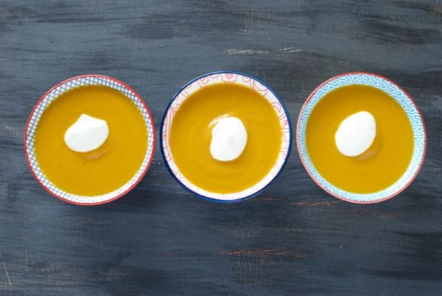 curry pumpkin sweet potato soup