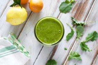 super clean green smoothie