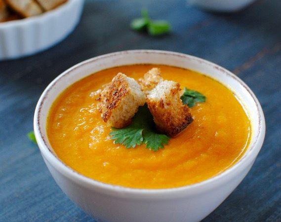 golden bell pepper soup