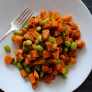 Super Quick Sweet Potato Hash