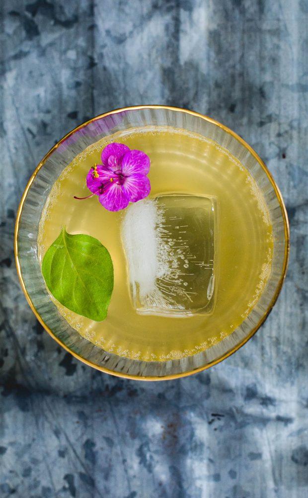 Summer Lovin' Kombucha Cocktail by Heartbeet Kitchen